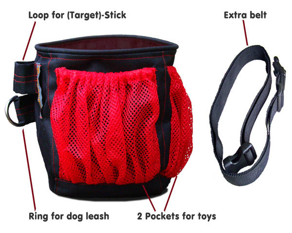 dog treat bag, treat pouch